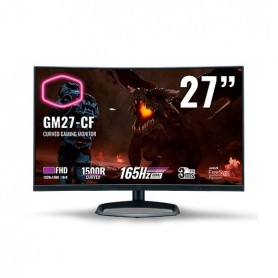 MONITOR GAMING LED 27 COOLER MASTER GM27 CF CURVO