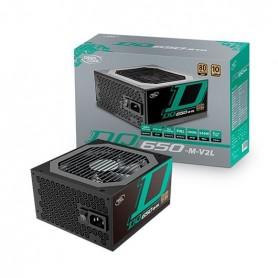 FUENTE DE ALIMENTACION ATX 650W DEEPCOOL DQ650 M V2L NEGRO
