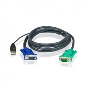 CABLE ATEN USB PARA CONSOLAS KVM 3M