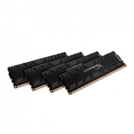 MODULO MEMORIA RAM DDR4 16GB 4X4GB PC3000 KINGSTON HYPERX