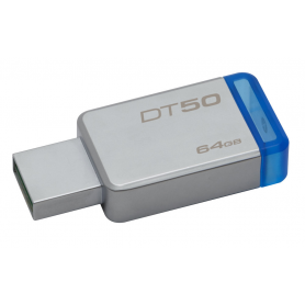 PENDRIVE 64GB USB 31 KINGSTON DT50 AZUL