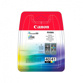 CARTUCHO ORIG CANON PACK PG 40 CL 41 MULTIPACK