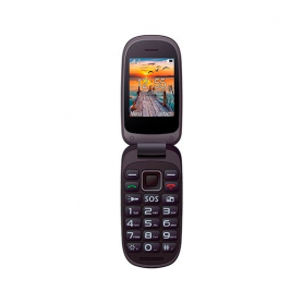 MOVIL SMARTPHONE MAXCOM COMFORT MM818 NEGRO ROJO