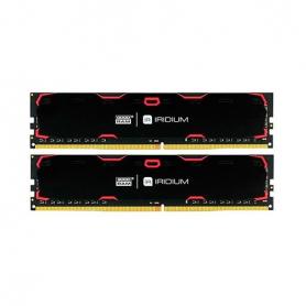 MODULO MEMORIA RAM DDR4 8GB 2X4GB PC2400 GOODRAM IRDM NEG