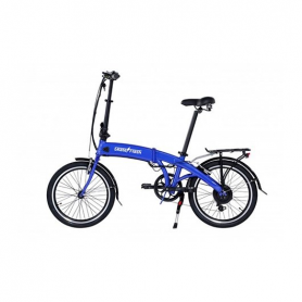 BICICLETA ELECTRICA 20 SKATEFLASH PRO COLOR AZUL