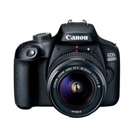 CAMARA CANON REFLEX EOS 4000D OBJETIVO EF S 18 55 III