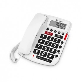 TELEFONO FIJO SPC COMFORT VOLUME BLANCO