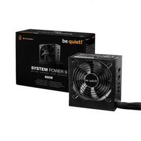 FUENTE DE ALIMENTACION ATX 600W BE QUIET SYSTEM POWER 9 CM