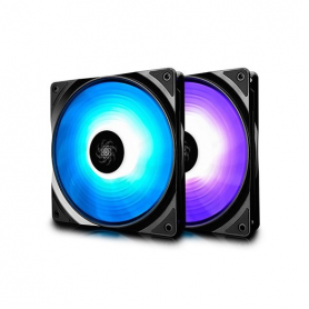 VENTILADOR 140X140 DEEPCOOL RF 140 RGB 2 IN 1