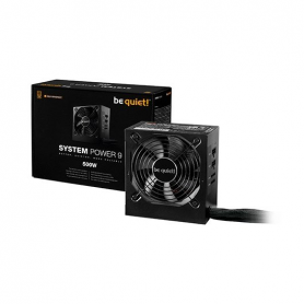 FUENTE DE ALIMENTACION ATX 500W BE QUIET SYSTEM POWER 9 CM