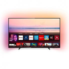 TELEVISIoN LED 50 PHILIPS 50PUS6704 4K UHD NEGRO