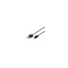 CABLE DE CARGA SYNC GOOBAY USB C NEGRO 1M