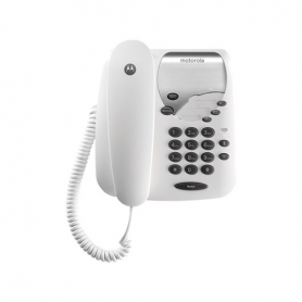 TELEFONO CON CABLE MOTOROLA CT1 BLANCO