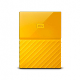 DISCO DURO EXT USB30 25 4TB WD MY PASSPORT AMARILLO