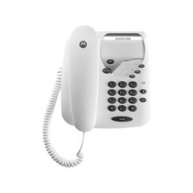 TELEFONO CON CABLE DIGITAL MOTOROLA CT202 NEGRO