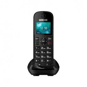 TELEFONO INALAMBRICO MAXCOM FIXED PHONE MM35D NEGRO
