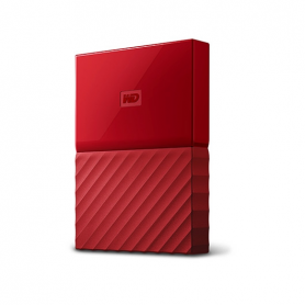 DISCO DURO EXT USB30 25 4TB WD MY PASSPORT ROJO