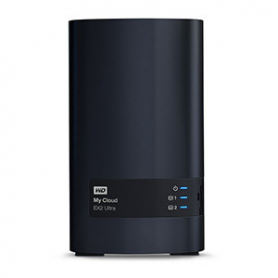 NAS SERVIDOR WD MY CLOUD EX2 8TB ULTRA
