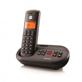 TELEFONO INALAMBRICO DECT DIGITAL MOTOROLA E211 NEGR
