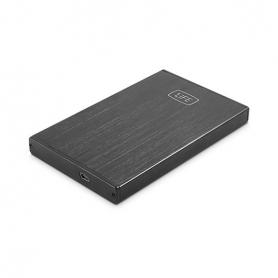 CAJA EXTERNA 25 USB20 SATA 1LIFE NEGRO
