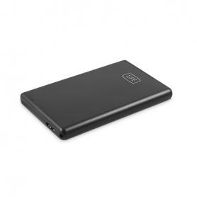 CAJA EXTERNA 25 USB30 SATA 1LIFE NEGRO