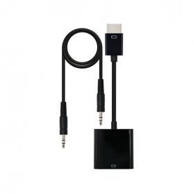 CONVERSOR SVGA AUDIO A HDMI NANOCABLE NEGRO