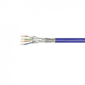 CABLE RED S FTP CAT7A PIMF GOOBAY 500M BLUE