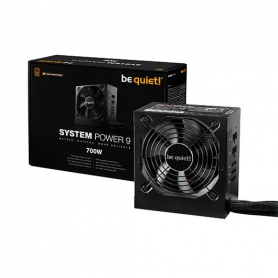 FUENTE DE ALIMENTACION ATX 700W BE QUIET SYSTEM POWER 9 CM