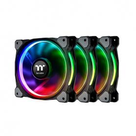 VENTILADOR 120X120 THERMALTAKE RIING PLUS 12 RGB TT 3UDS