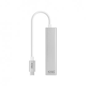 CABLE USB C A ETHERNET GIGABIT3XUSB NANOCABLE