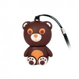 PENDRIVE 32GB TECH ONE TECH OSITO TOTUS USB 20 GOMA TEC512