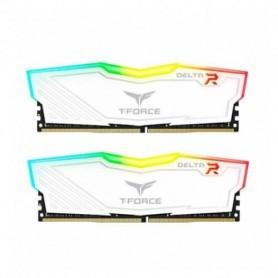 MODULO DDR4 32GB 2X16GB PC3600 TEAMGROUP DELTA RGB BLANCO C