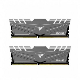 MODULO DDR4 32GB 2X16GB PC3200 TEAMGROUP DARK Z GRIS CL 16