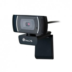WEBCAM NGS XPRESS CAM 1080 NEGRO MICROFONO USB 1920X1080 60