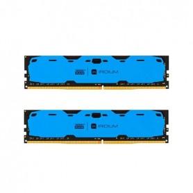 MODULO DDR4 8GB 2X4GB 2400MHz GOODRAM IRDM AZUL CL 15 12V